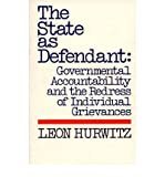 img - for The State as Defendant (Contributions in Women's Studies) (Hardback) - Common book / textbook / text book