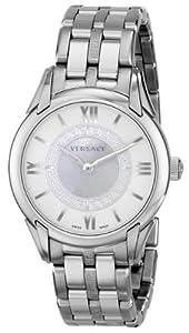 "Versace Women's VFF030013 ""Dafne"" Stainless Steel Dress Watch"