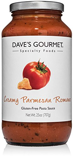 Dave's Gourmet Creamy Parmesan Romano Pasta Sauce, Pack of 1 (Daves Gourmet Pasta Sauce compare prices)