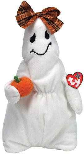 Ty Halloween Beanie Buddy Ghoulianne the Girl Ghost - 1