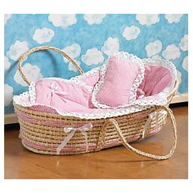 MOSES BASSINET GIRL: Baby