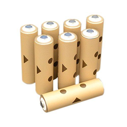 DANBOARD充電式ニッケル水素電池 単3形8個パック (充電済み、最小容量1900mAh、約1000回使用可能) HR-3UTE(8S)DB
