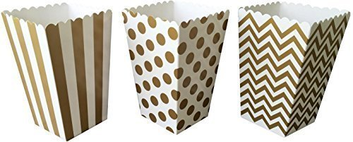 outside-the-box-papers-gold-chevron-stripe-and-polka-dot-paper-popcorn-boxes-36-count-gold-white