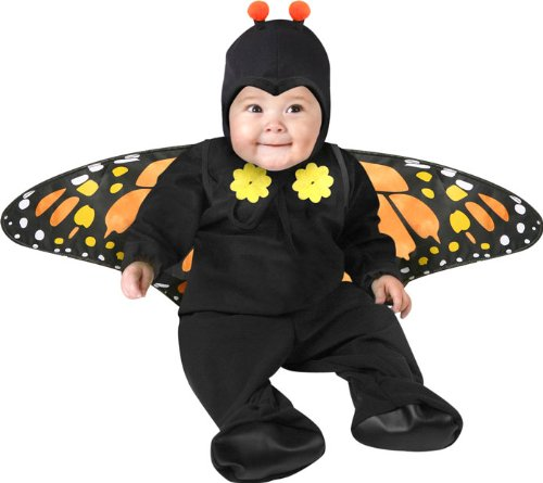 Child's Infant Baby Girl Butterfly Halloween Costume (6-12 Months) image