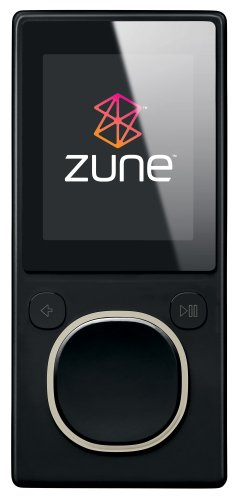 Zune 8 GB Digital Media Player Black (2nd Generation)