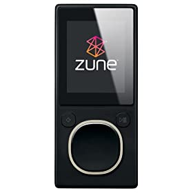 Zune 4 GB Video MP3 Player (Black)