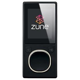 Zune 8 GB Digital Media Player Black (2nd Generation