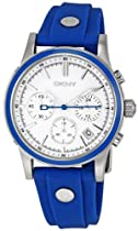 DKNY Blue Strap Chronograph Ladies Watch NY8173