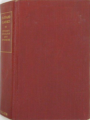 Harvard Classics Volume 28 (Essays English And American)