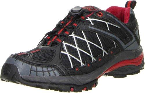 ConWay Damen Herren Outdoorschuhe Trekkingschuhe rot, Größe:38;Farbe:Rot
