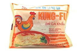 Kung-Fu Instant Oriental Noodle Soup (Chicken Flavor) 2.82 oz (Pack of 15)