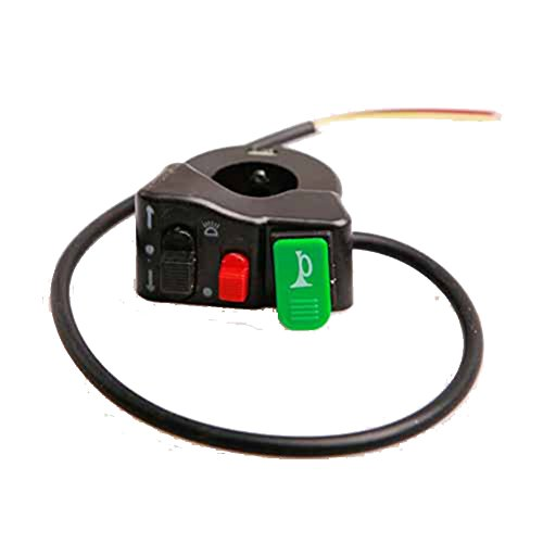 "Generic Light Turn Signal & Horn Switch Electric 7/8"" Handlebars Bike/Scooter/Dirt Bike"
