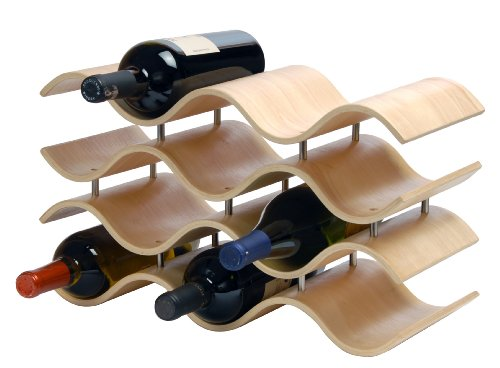 Oenophilia Bali Wine Rack, Natural – 10 Bottle