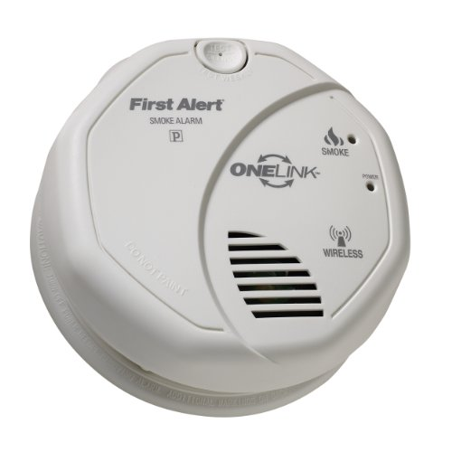 buy cheap first alert sa501cn onelink wireless battery operated smoke alarm. Black Bedroom Furniture Sets. Home Design Ideas