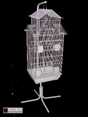 Cheap Dahak Large Mandarin Bird Cage And Matching Stand (3018/C7)