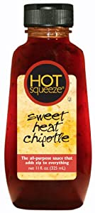 Hot Squeeze Sauce Sweet Heat Chipotle 11-ounce Pack Of 6 from HOT Squeeze