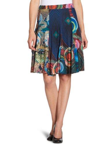 Desigual Spalko Pencil Women's Skirt Azul Europa 12