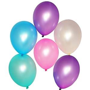 Latex Pastel Pearl Balloons (144 pcs)