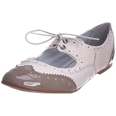 Dune Women's Bambie Ballet Flat 33 Taupe S11L/Le33/Cal0031 4 UK