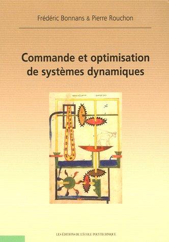 Commande et optimisation de systèmes dynamiques
