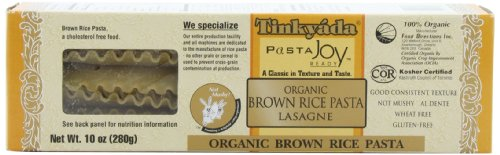 Tinkyada Brown Rice Pasta, Lasagne, 10-Ounce (Pack of 6) (Lasagne Pasta compare prices)