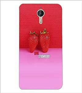 PrintDhaba Strawberries D-6000 Back Case Cover for LETV (LE ECO) LE 1 PRO (Multi-Coloured)