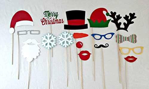 Christmas Photo Props - Christmas Party Decorations - Ugly Sweater Decorations - Party Supplies (Pics Of Ugly compare prices)