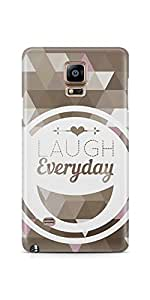 Casenation Laugh Everyday Samsung Galaxy Note 4 Glossy Case