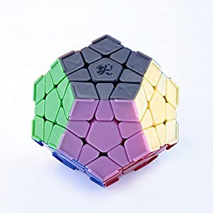 JohnsDollarStore WuJi Megaminx Speed Cube White