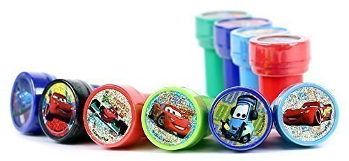 Disney Cars Self-Inking Stamps / Stampers Party Favors (10 Counts)