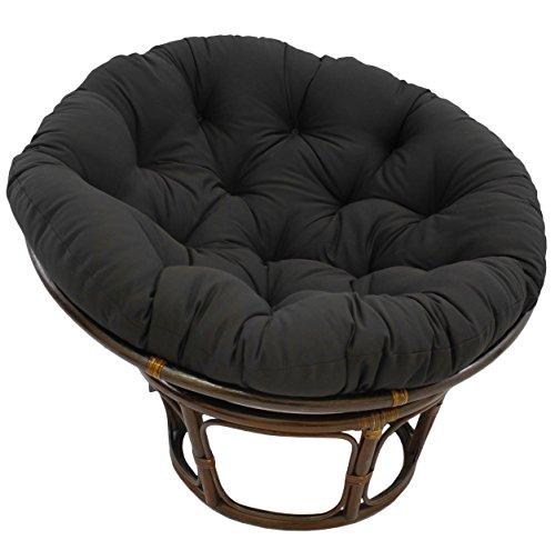 Extra large papasan chair home furniture design for Black papasan chair cushion