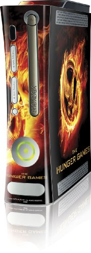 Skinit The Hunger Games Logo Vinyl Skin for Microsoft Xbox 360 (Includes HDD)