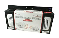 Ei Electronics Smoke Alarm with Smartlink RF Digital Wire Free Interconnection (Twin Pack) by Ei Electronics