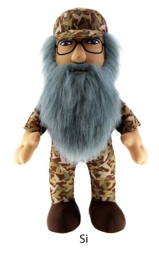 "Duck Dynasty Si 8"" Plush Character with Sound"