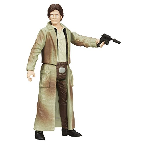 Star Wars Saga Legends Han Solo (Endor) Figure