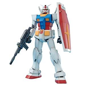 Amazon.com: Gundam RX-78-2 Gundam Ver 2.0 MG 1/100 Scale: Toys & Games