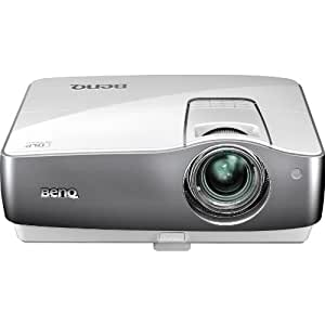 BenQ W1200 DLP-Projektor (Full-HD, 1920 x 1080 Pixel, Kontrast 5000:1, 1800 ANSI Lumen, 2x HDMI mit HDCP) weiß