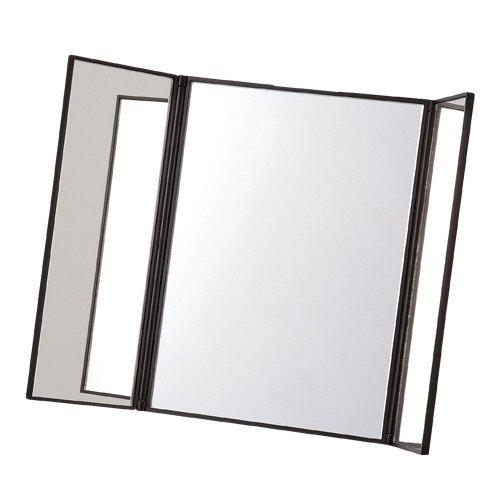 コンパクト三面鏡 HST98 ブラック