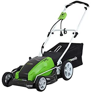 GreenWorks 25112 21-Inch 13 Amp Electric Lawn Mower 3 in 1 by Sunrise Global Marketing, LLC
