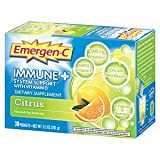 Emergen-C Immune+ System Support w/Vitamin D-Citrus - 30 - Pack