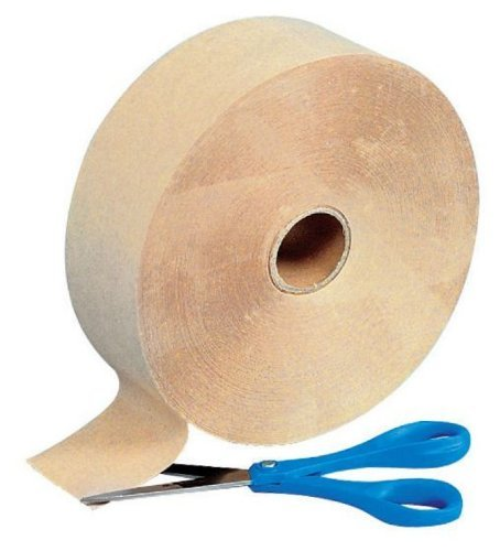 Gummed Kraft Paper Tape - 2.5 Inches x 600 Feet (Butchers Tape compare prices)