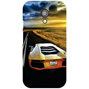 Motorola Moto G (2nd Gen) Back Cover - Roadway Designer Cases