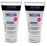 John Frieda Frizz Ease Straight Fixation Hair Straightening Cream (Pack Of 2) 145Ml Each