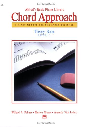 Alfred's Basic Piano Chord Approach Theory 1 (Alfred's Basic Piano Library)