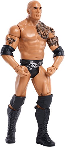 WWE Basic The Rock Figure