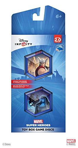Disney INFINITY: Marvel Super Heroes (2.0 Edition) Toy Box Game Discs - 1