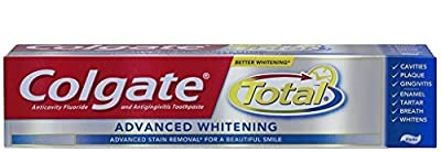 Colgate Total Advanced Fresh Whitening Gel Toothpaste, 5.8-Ounce