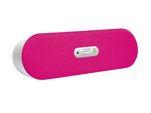 Creative D80 – Haut-parleurs sans fil Bluetooth – Rose