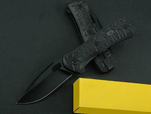 All Black Assisted Opening Black Claw Speedster Finger Hole Knife Bk-846-7.48''