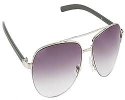 WTF 003-1014 Gunmetal Grey Gradient Aviator Sunglasses